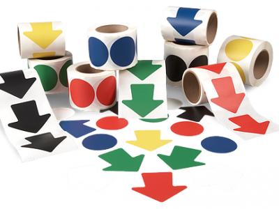 Cercles-et-flèches-autocollants-vinyle